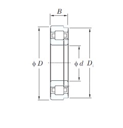 KOYO NUP2222R cylindrical roller bearings