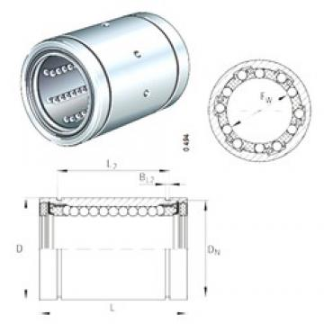 INA KB25 linear bearings