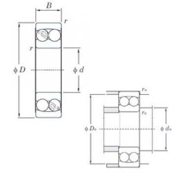 KOYO 1204 self aligning ball bearings
