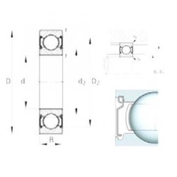FAG 6206-C-2Z deep groove ball bearings