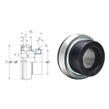 KOYO SA203F deep groove ball bearings
