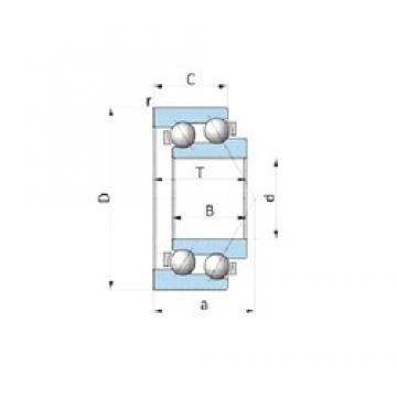 FAG F-239495.SKL-AM angular contact ball bearings