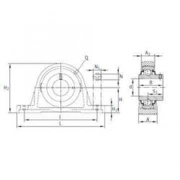 INA RASEY80 bearing units