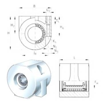 INA KGHA30-PP bearing units