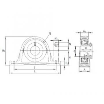 INA PASEY60-N bearing units