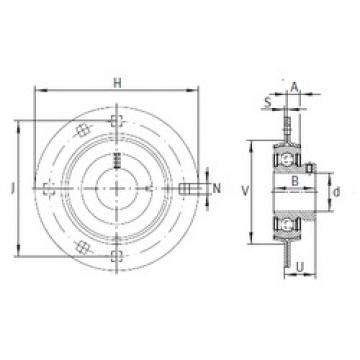 INA RAY20 bearing units