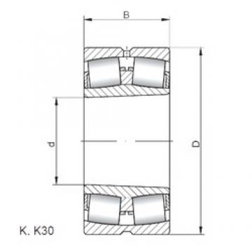 ISO 22220 KW33 spherical roller bearings