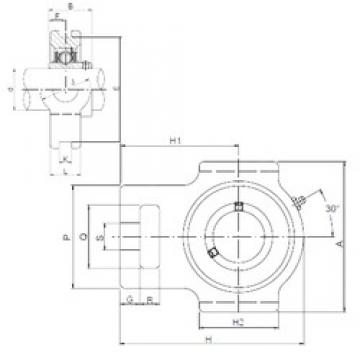 ISO UCT211 bearing units
