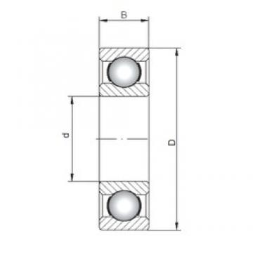ISO 6422 deep groove ball bearings