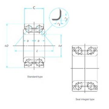 FAG SA0061 angular contact ball bearings