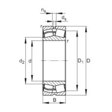 FAG 23248-E1 spherical roller bearings