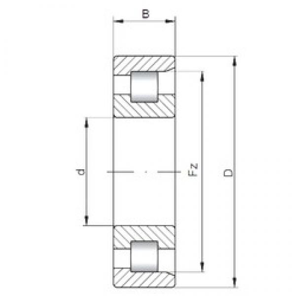ISO NF28/900 cylindrical roller bearings #1 image